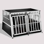 Aluminum Dog cage Large Double Door Dog cage 75a 104 06-0777 Aluminum Dog cage Large Double Door Dog cage 75a 104 06-0777